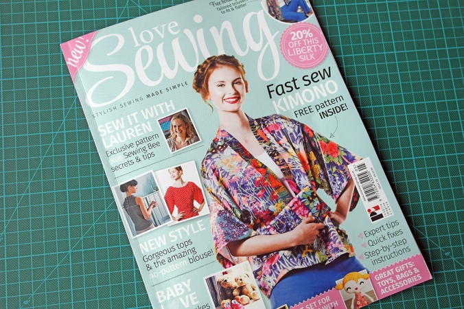 Issue 5 Love Sewing Magazine