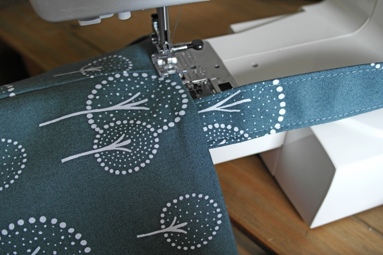 How to Topstitch a Bag Opening 1