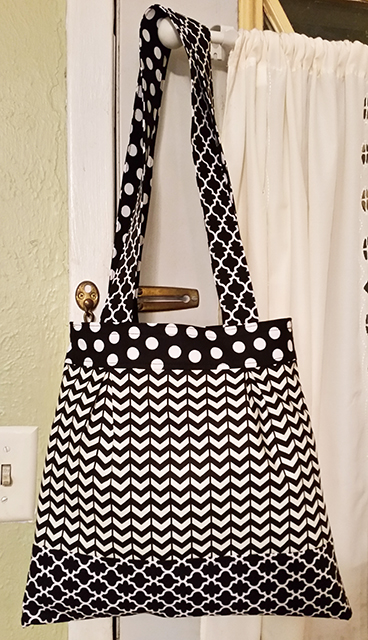 Catriona Tote Sewing Pattern by Susan Dunlop - handmade by Angie