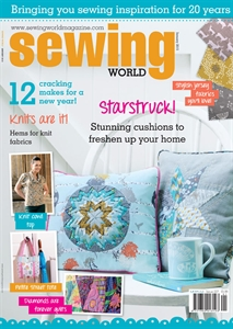 January 2015 issue of Sewing World magazine