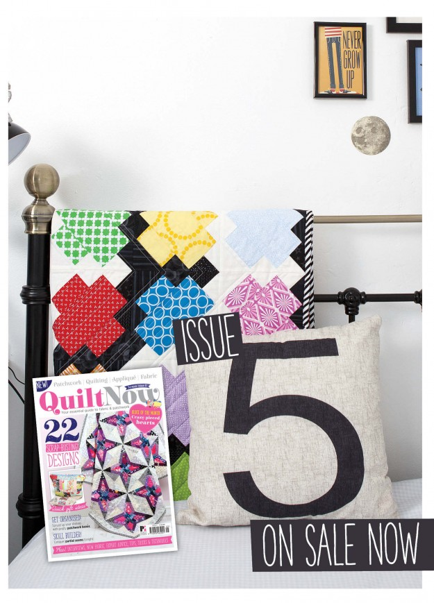 Issue 5 Quilt Now magazine