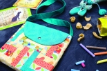 Rail Fence Bag Project by Susan Dunlop in Quilt Now magazine