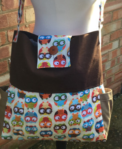 Front of Owl Bag