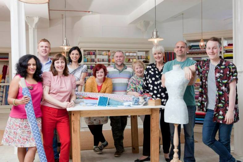 Great British Sewing Bee the contestants