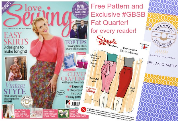 Issue 10 cover image Love Sewing magazine