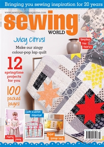 March 2015 Sewing World Magazine