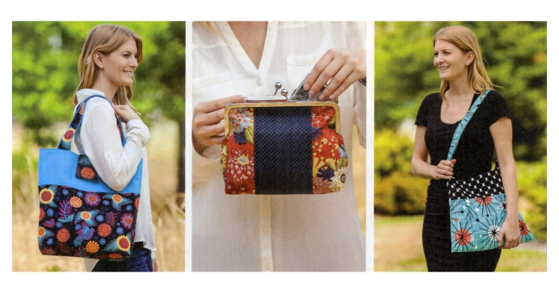 style and swing - 12 Structured Handbags for Beginners and Beyond - some of the projects