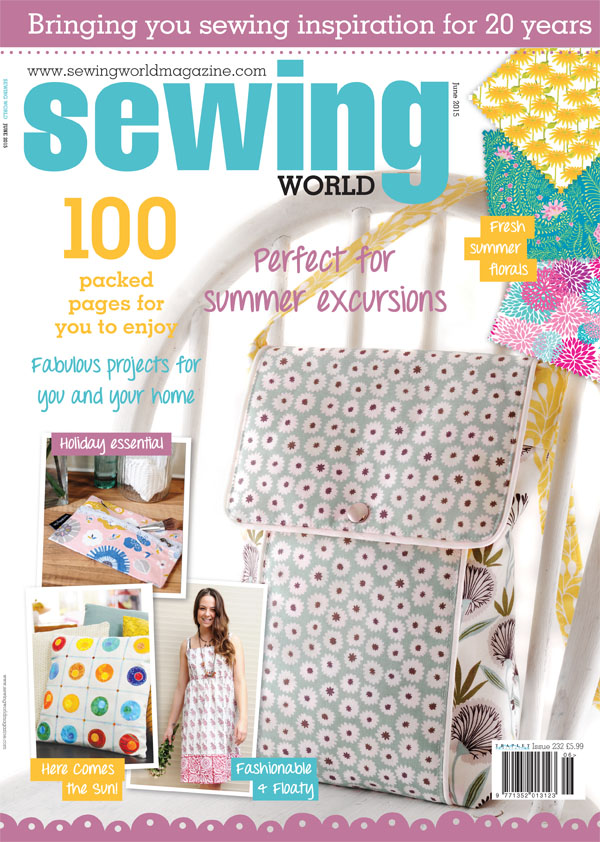 Sewing World Magazine June 2015