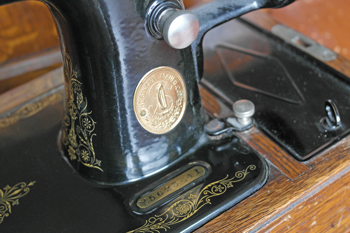 serial number singer sewing machine