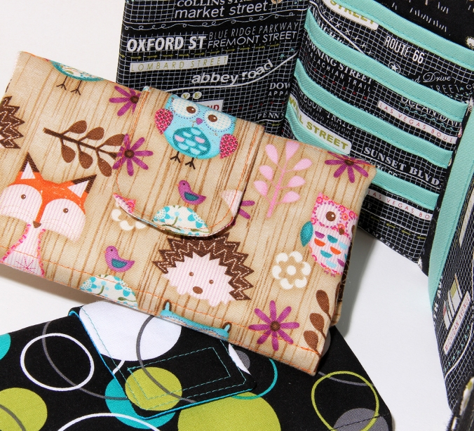 Tri-fold Wallet on Craftsy, by Susan Dunlop of SusieDDesigns