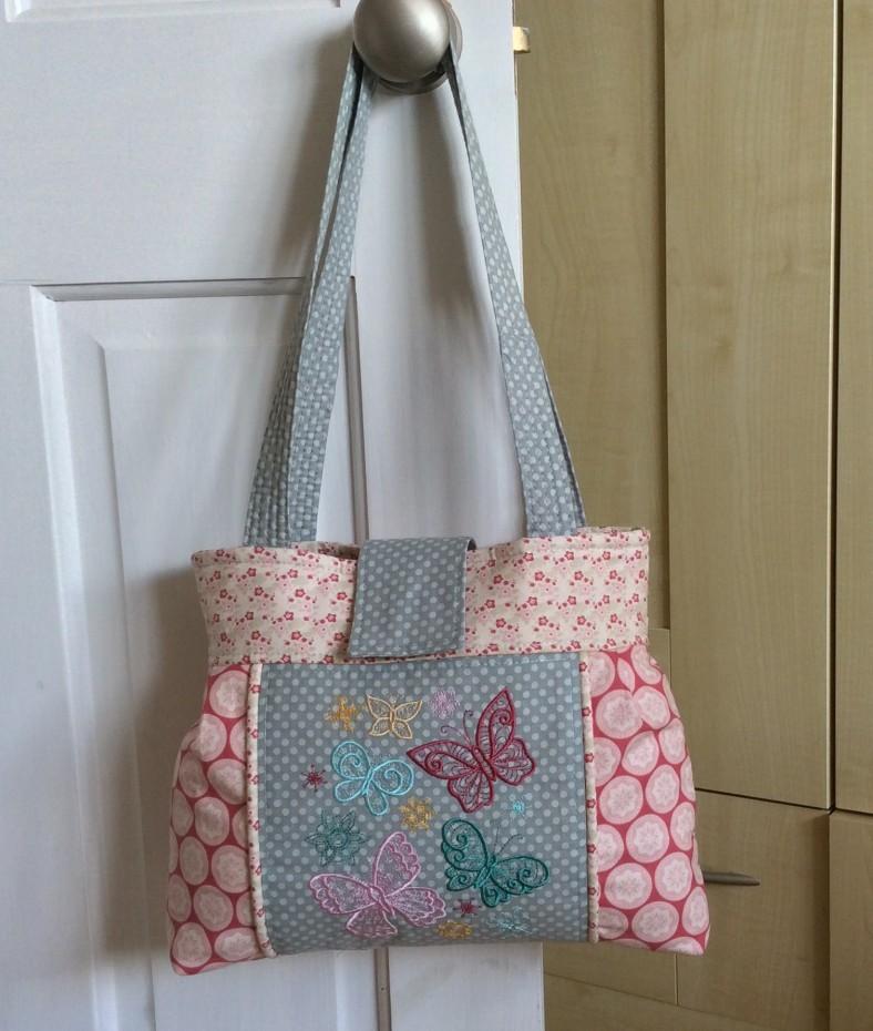 Janis Davies - Makes (embroidered sweetheart bag 2)