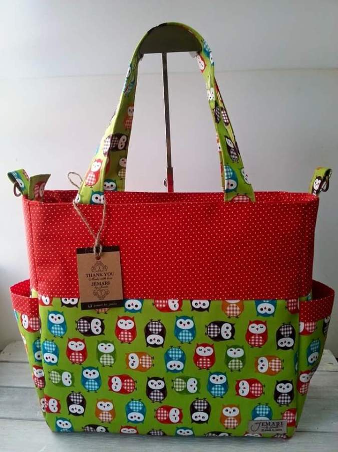 SusieDDesigns - Sophie Nappy Bag sewing pattern