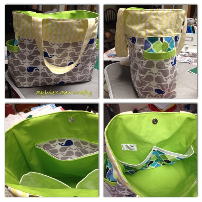 Steph - Sylvie's so Crafty - diaper bag 2