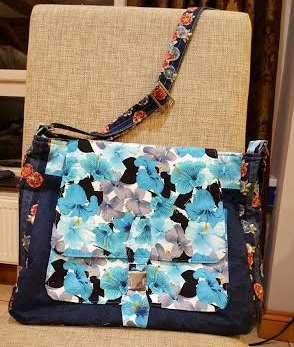 Polly Bell - Barcelona Satchel Sewing Pattern