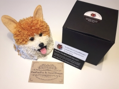 Corgi Pompompet by SusieDDesigns