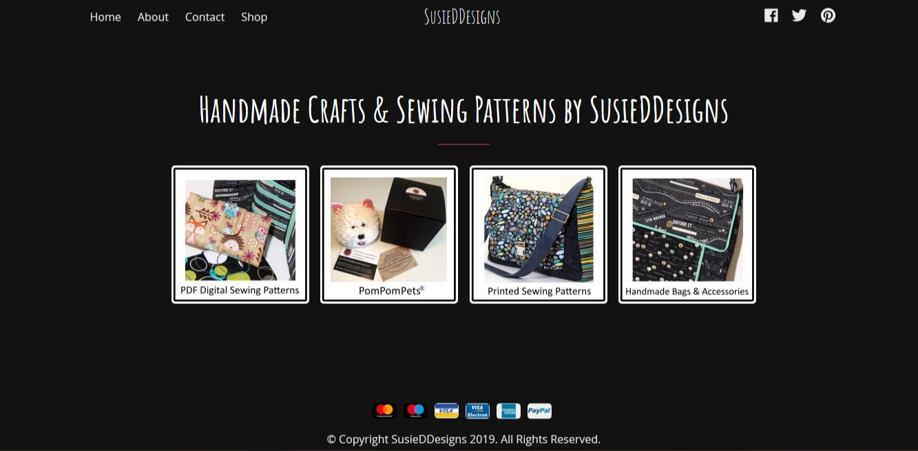 Handmade Crafts & Sewing Patterns by SusieDDesigns