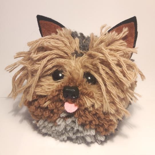 Yorkshire Terrier Pompompet by SusieDDesigns