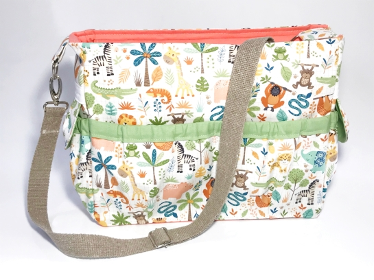 jungle friends bag 1